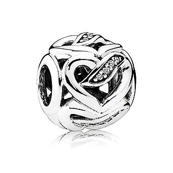 Pandora Ribbons of Love Charm - 792046CZ