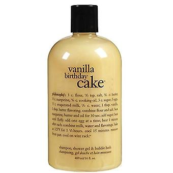 Philosophy Vanilla Birthday Cake Shower Gel 16 oz / 480ml