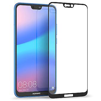 Huawei P20 Lite glas Screen Protector - zwarte rand
