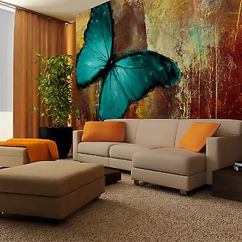 Wellindal Wallpaper Painted butterfly (Decoration , Vinyls)