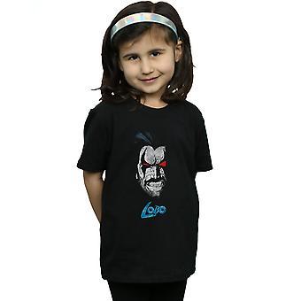 DC Comics T-Shirt de visage de filles Lobo