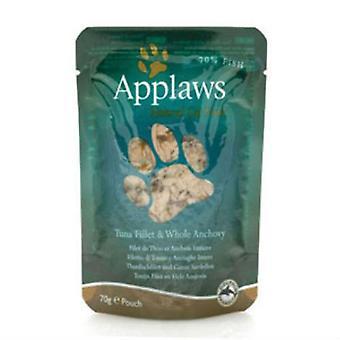 Nourriture pour chat Applaws filet de thon et d'anchois entiers