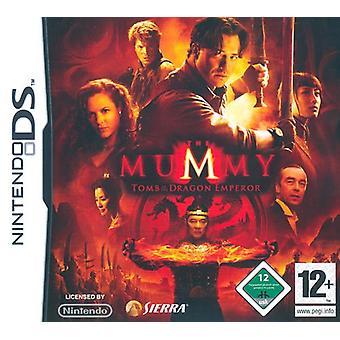 De mummie Tomb of the Dragon Emperor (Nintendo DS)