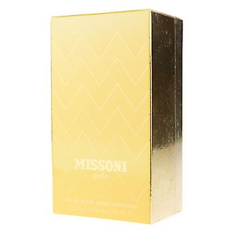 Missoni 'Giallo' Eau De Toilette Spray 2.5oz/75ml In Box