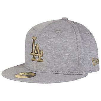 New era 59Fifty Cap - JERSEY LA Dodgers grey / olive