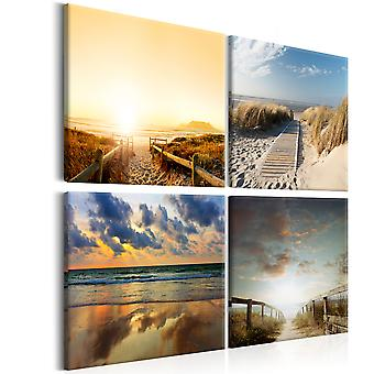 Canvas Print - On The Beach of Dreams