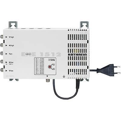 Kathrein EXE 1512 SAT unicable cascade multiswitch Inputs (multiswitches)  5 (4 SAT 1 terrestrial) No. of participants  12
