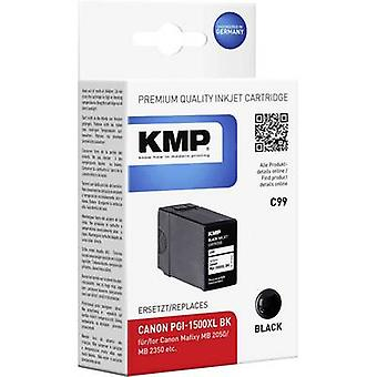 KMP Ink replaced Canon PGI-1500XL BK Compatible B