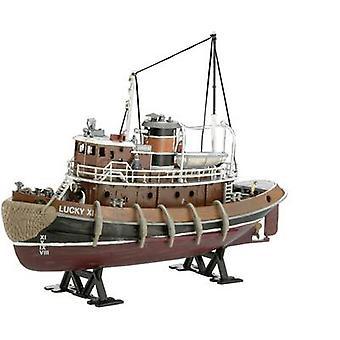 Revell 05207 Harbour Tug Boat motomarine Assemblée kit 1: 108