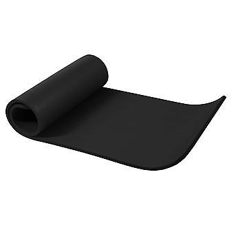 Yogamatte Schwarz 190 x 60 x 1,5 cm