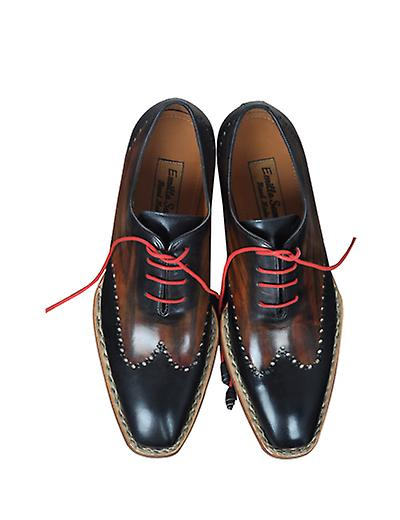Handcrafted Premium Leather Afro B B B Oxford Shoe c9e59e