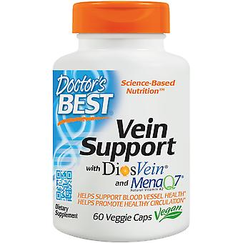 Doctor's Best Vein Support with Diosvein and MenaQ7 60 vcaps