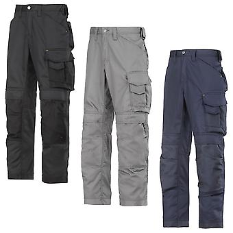 Snickers Craftsmen Work Trousers with Kneepad Pockets. CoolTwill  - 3311