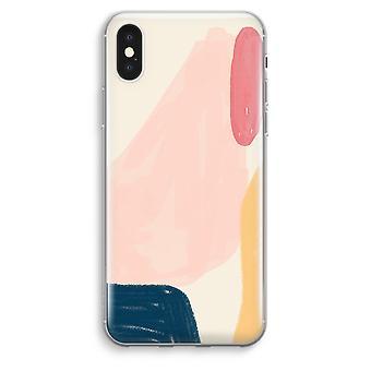 iPhone XS Max Transparent Case (Soft) - Saturday Flow