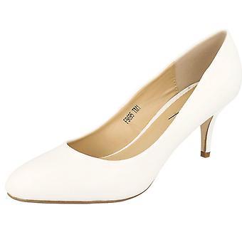Dames Anne Michelle midden hak Hof schoenen
