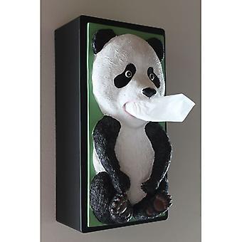 Rotary Hero Panda Tissue Box