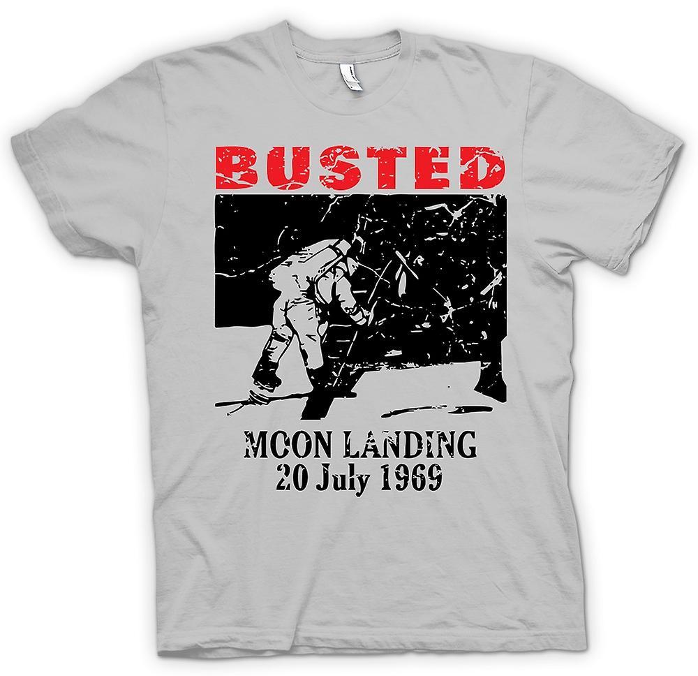 Heren T-shirt - Moon Landing Hoax 1969 - samenzwering
