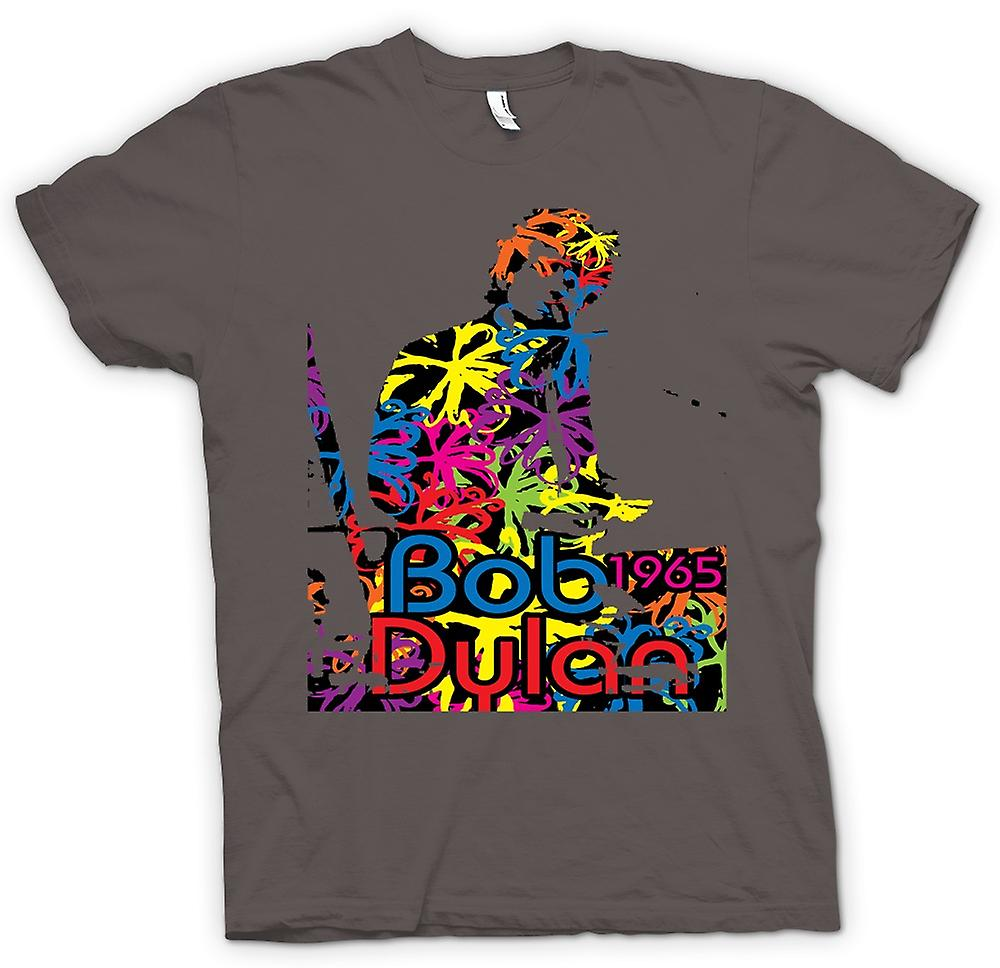 Womens T-shirt - Bob Dylan 1965 - Psychedelic