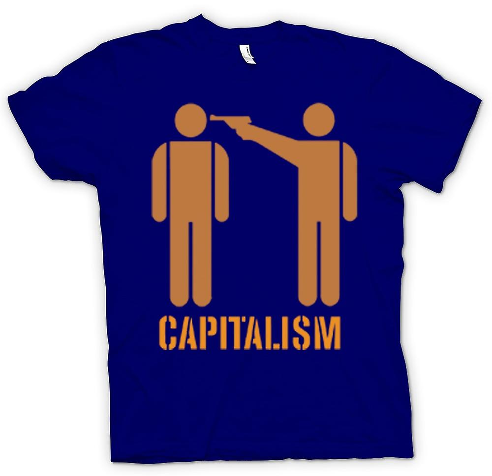 Mens T-shirt - Capitalism Will Kill You - Anti Capitalism