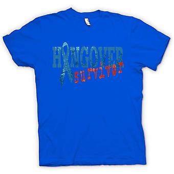 Womens T-shirt - Hangover Survivor - Funny