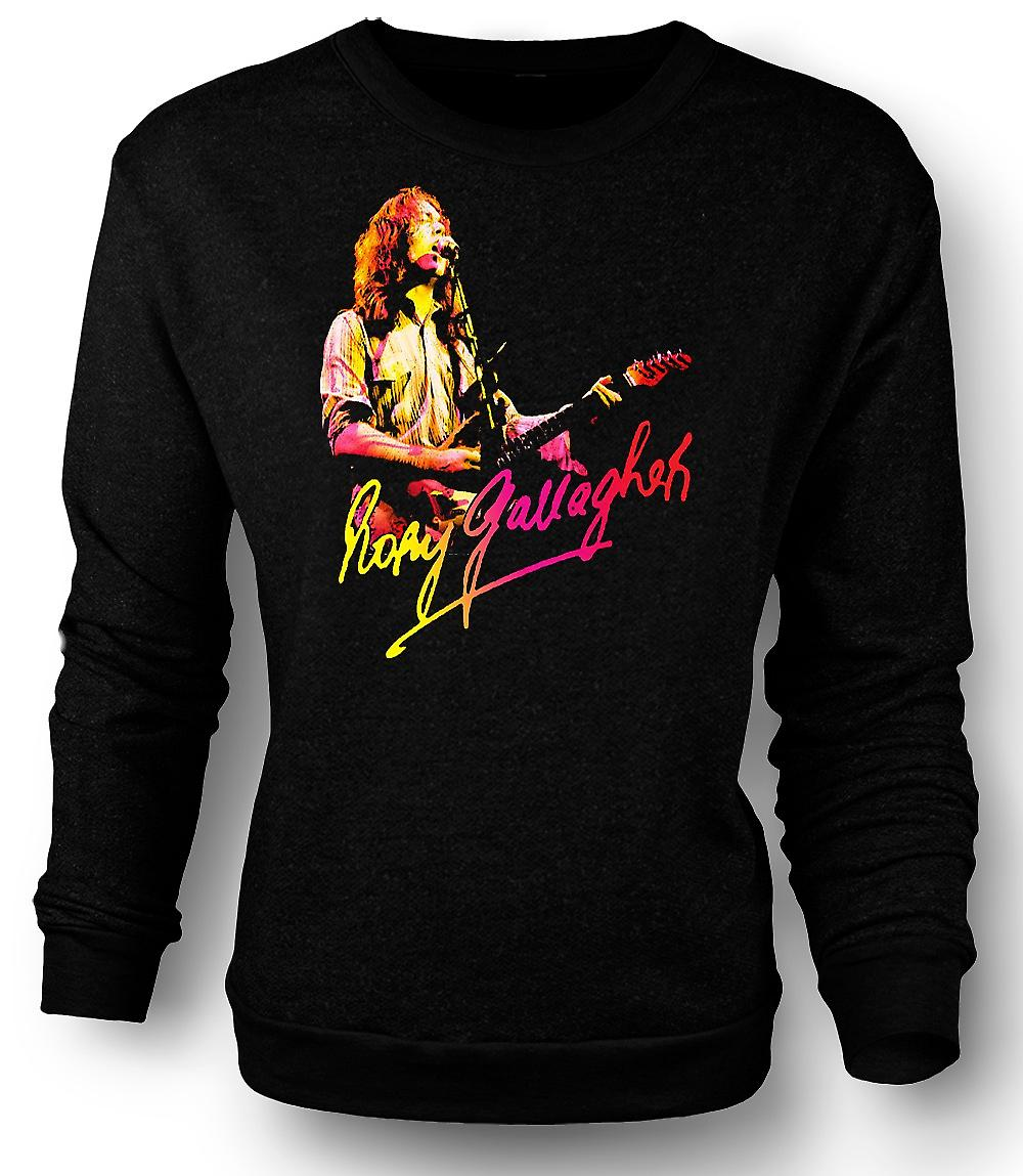 Mens Sweatshirt Rory Gallagher - God Blues - Rock-Musik