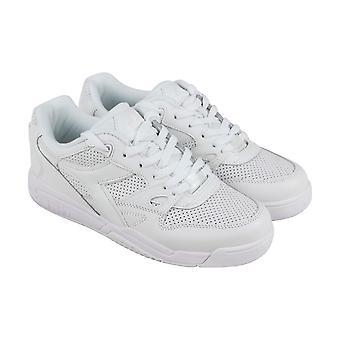 Diadora Rebound Ace Mens White Leather Sneakers Lace Up Tennis Shoes