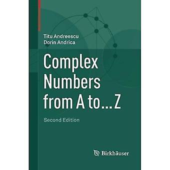 Nombres complexes de A à... Z