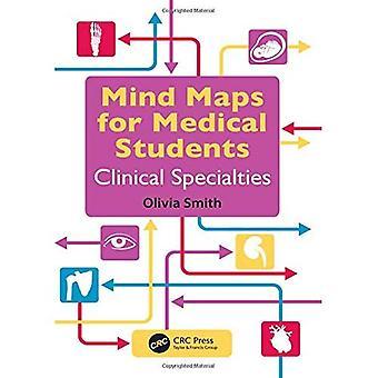 Mapas mentales para estudiantes de medicina de especialidades clínicas