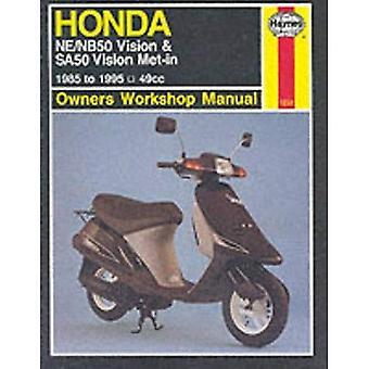 Honda NE/NB50 Vision and SA50 Vision Met-in Owner's Workshop Manual (Haynes Owners Workshop Manuals)