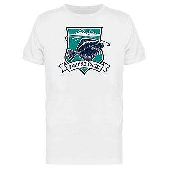 Fischerei-Symbol Flunder Fisch T-Shirt Herren-Bild von Shutterstock