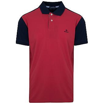 Gant GANT Kardinal rot Kontrast Polo-Shirt