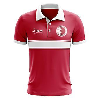 Koszulka Polo pasek koncepcja Bahrajn (czerwony)