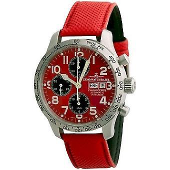 Zeno-Watch Herrenuhr NC Pilot Tachymeter Chronograph-Date 9557TVDD-2T-b7