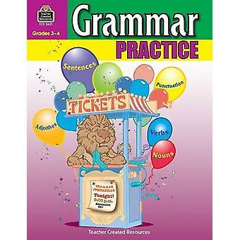 Grammar Practice - Grades 3-4 by Peter Clutterbuck - 9780743936217 Bo