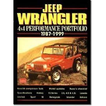 Jeep Wrangler 4X4 - 1987-99 by R. M. Clarke - 9781855204171 Book