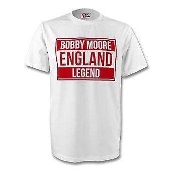 Bobby Moore Anglii legendy Tee (biały) - dla dzieci