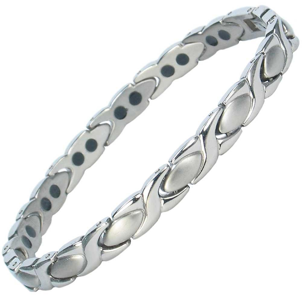 MPS® ALIOTH Classic Titanium Magnetic Bracelet + FREE Links Removal Tool