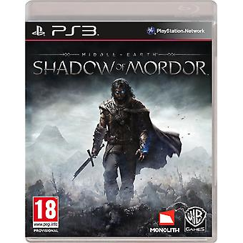 Middle-Earth Shadow of Mordor - Playstation 3