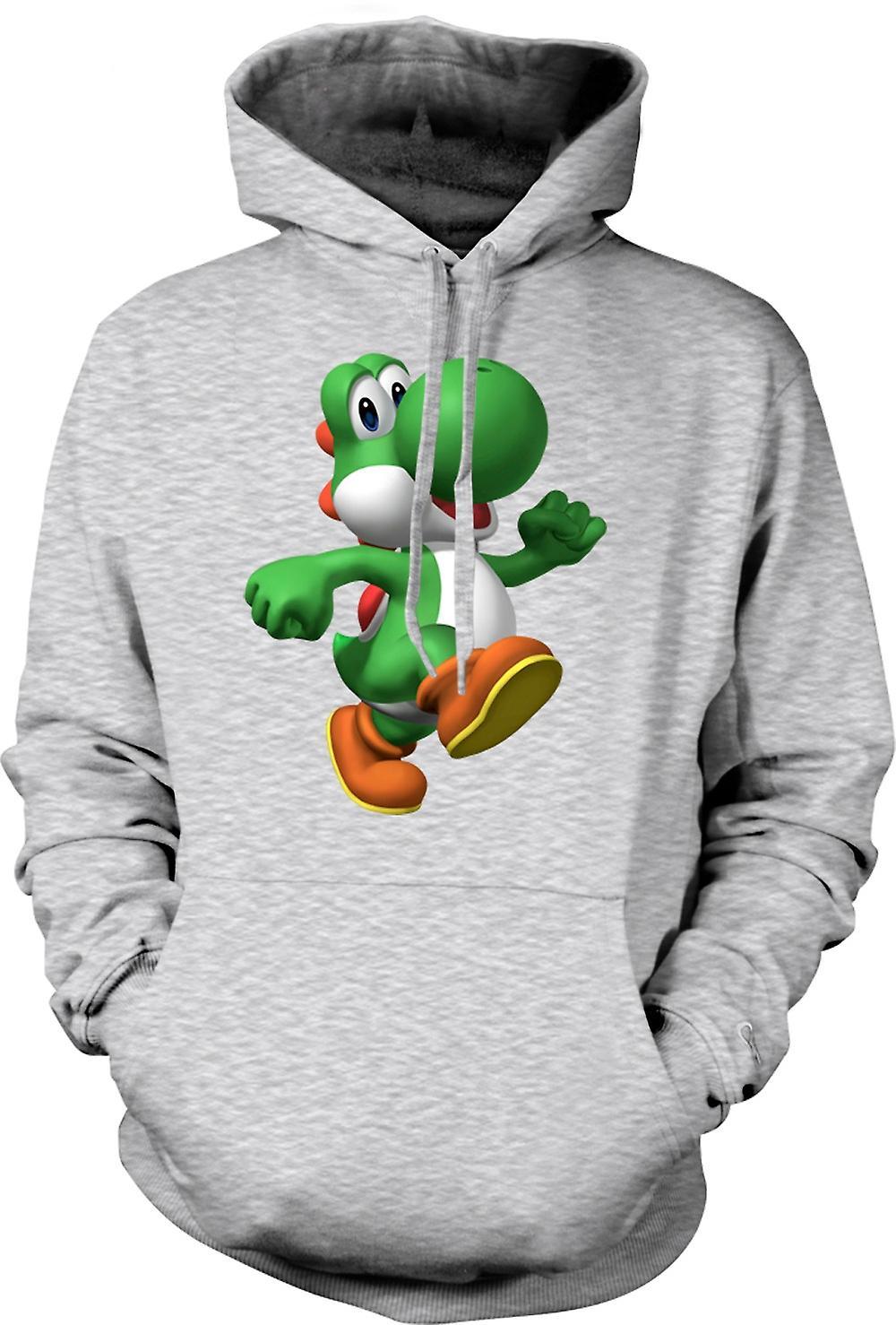 Para hombre con capucha - amo a Yoshi - Gamer