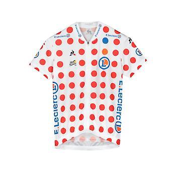 Tour de France Le Coq Sportif Kids Replica King of the Mountains Jersey | Polka | 2019 | 10