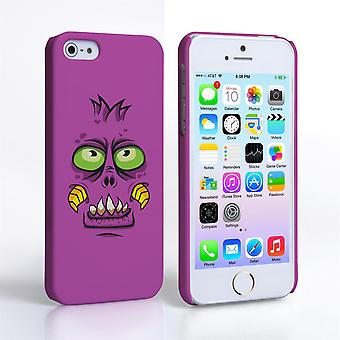 Caseflex iPhone 5 and 5S Monster Hard Case - Purple