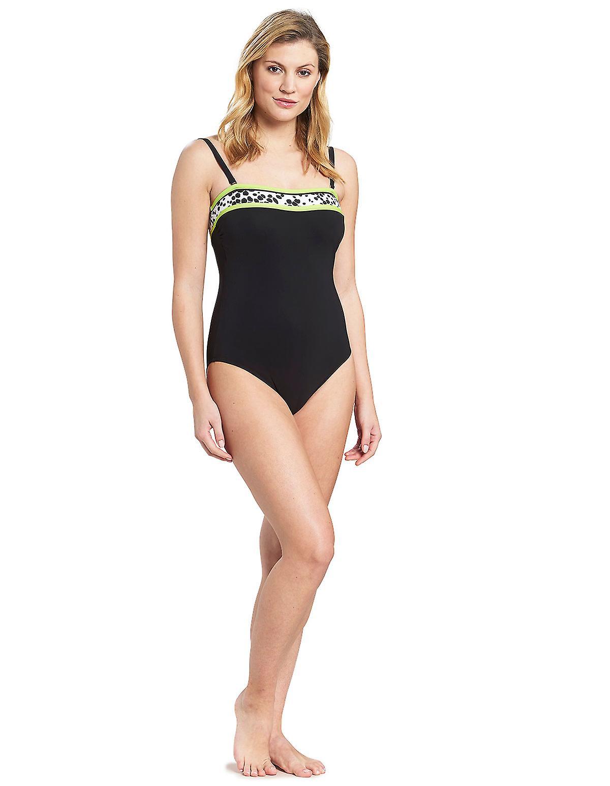 Feraud 3195305-10995 Voyage Femme Costume Noir Non-Wirouge Costume One Piece Maillot de bain
