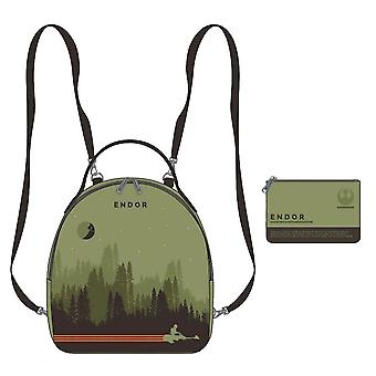 Star Wars Endor Limited Edition Mini Backpack with Pouch