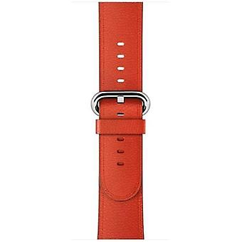 Apple 38mm classic red strap