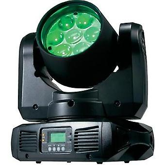 LED movimiento punto principal ADJ Inno Color Haz Z7. de LEDs: 7 x 10 W