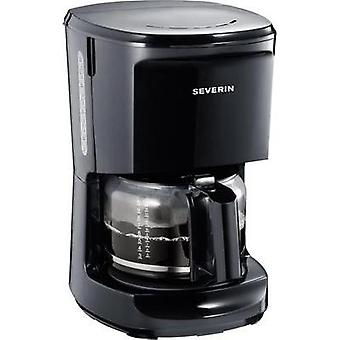 Coffee maker Severin Black Cup volume=10 Plate warmer