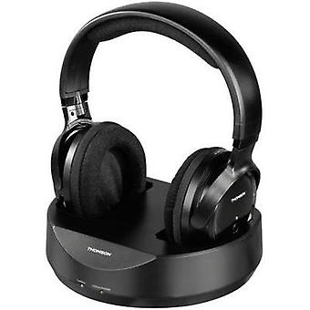 Cordless (1075099) Headphone Thomson WHP3001BK Over-the-ear Volume control Black