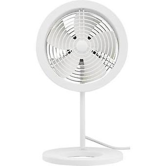 Desk fan Sygonix 32 W (Ø x H) 15 cm x 34 cm White