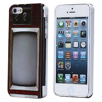 Cover with old tv for iPhone 5