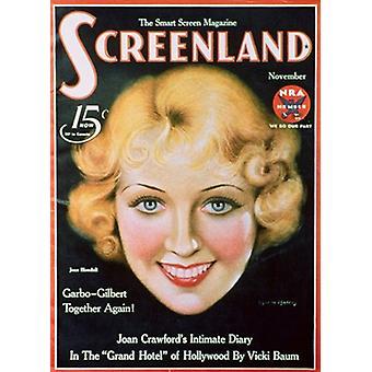 Joan Blondell film plakat (11 x 17)